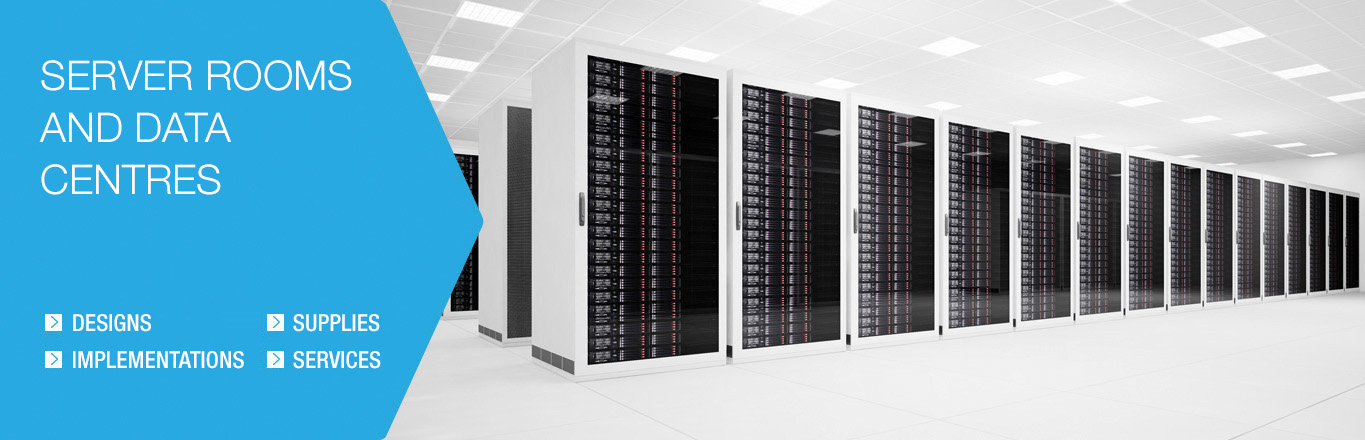 Server rooms and data centres