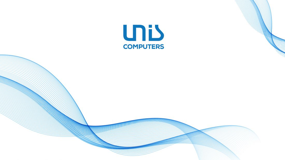 Unis Computers - white