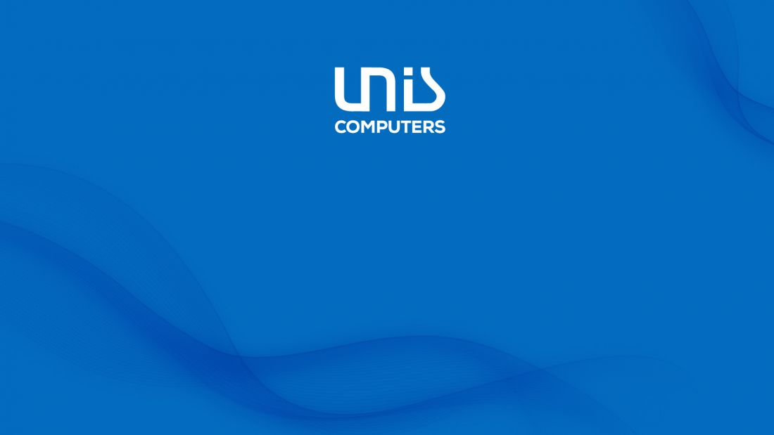Unis Computers - blue