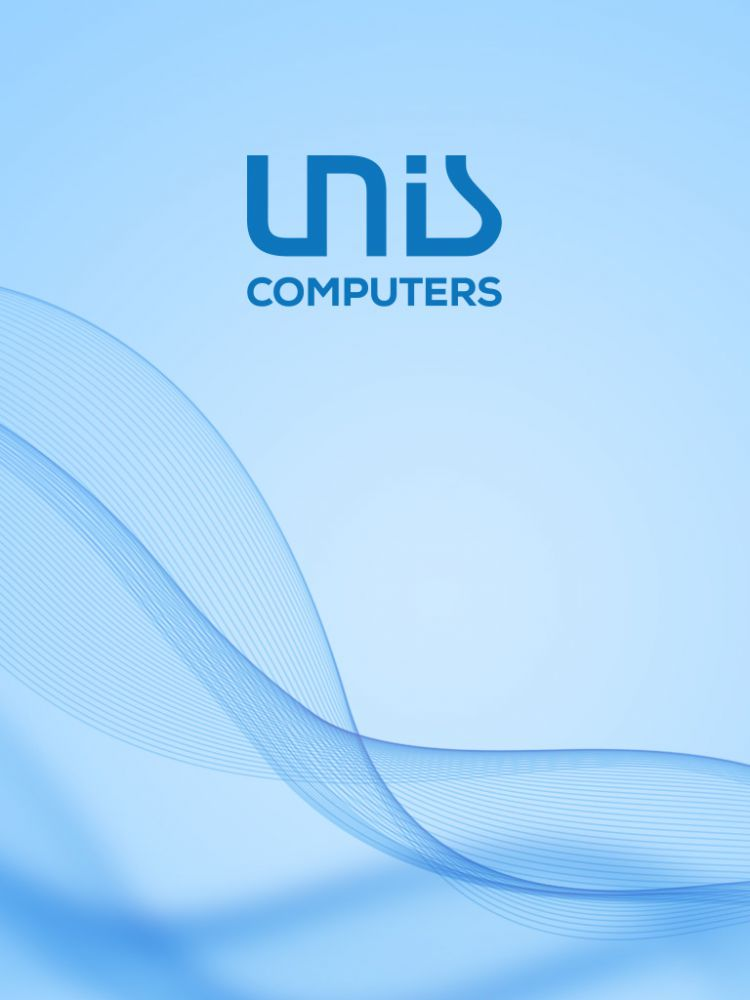 mobile Unis Computers - light blue